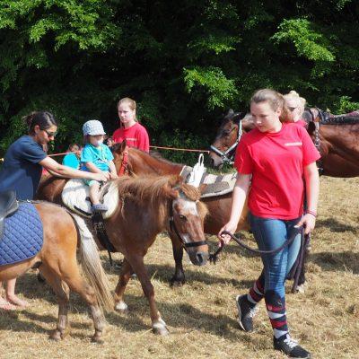 Ponyreiten auf Schloß Ippenburg